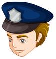 A policeman vector image
