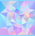 abstract irregular polygonal square background vector image vector image