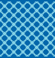 abstract seamless pattern geometric blue vector image vector image