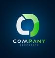 Alphabet letter O logo icon design vector image vector image