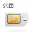 SimCard09 vector image vector image