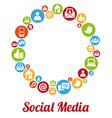SocialMIcon vector image vector image