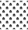typewriter pattern seamless vector image vector image