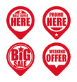 commerce tag design vector image