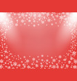 frame christmas and new year vector image vector image