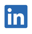 Linkedin logo editorial