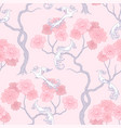 sakura tree pattern vector image