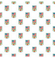 salute veterans day pattern seamless vector image vector image