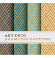 Art Deco seamless pattern 12 vector image vector image