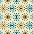 Background flowers pattern vector image