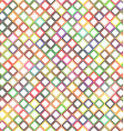Colorful abstract diagonal square pattern design vector image vector image
