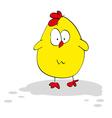 cute chicken vector image