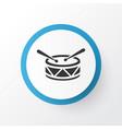 drum icon symbol premium quality isolated barrel vector image