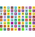 icons Isometric city vector image vector image