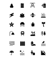 Nature and Ecology Icons 5 vector image vector image