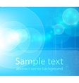 Water Background with Sunrays vector image vector image