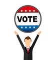 election season vector image