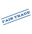 Fair Trade Watermark Stamp vector image vector image