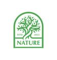 nature tree logo icon vector image
