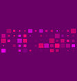 purple bg with colorful pink square elements
