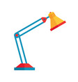 table light lamp - concept icon in flat graphic vector image