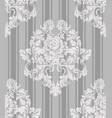 vintage ornament pattern baroque classic vector image vector image