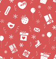 Winter holidays pattern 3 vector image vector image