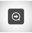 arrow next pointer cursor navigation right icon vector image vector image