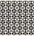 monochrome wavy lines design geometric vector image vector image