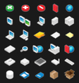 Perspective icons vector | Price: 1 Credit (USD $1)