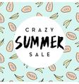 Summer Sale Poster Design vector image