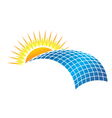 Solar Business vector image