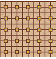 color ceramic tile mosaic pattern vector image vector image