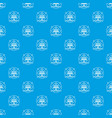 energy pattern seamless blue vector image vector image