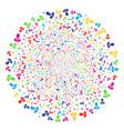 manager fireworks globula vector image vector image