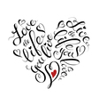 Motivational lettering design vector image vector image