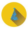 Party cone hat icon vector image vector image