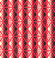 red ancient seamless pattern vector image vector image