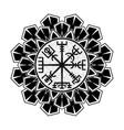 scandinavian tattoo 0003 vector image