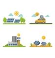 Sun solar energy set