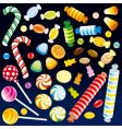sweet candies vector image