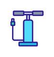 pump car accessory icon outline vector image vector image