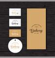bakery logo identity package