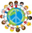 global children vector image vector image