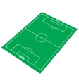 Green Soccer Stadium vector image vector image