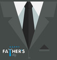 happy fathers day graphic design vector image