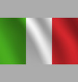 italy national flag vector image