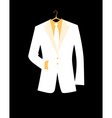 mans jacket for your design vector image vector image