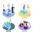 social credit design concept vector image vector image