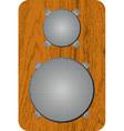 speaker 02 vector image vector image
